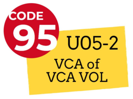 Nascholingscursus U05-1 VCA of VCA VOL op 14 september 2019 in Arnhem