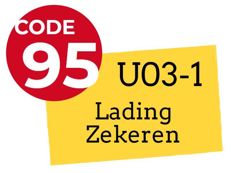 Nascholingscursus U03-1 Lading zekeren op 19 oktober 2019 in Oss