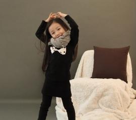 Sweater Jurk/ Tuniek met Strikprint