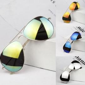Reflecterende trendy zonnebrillen