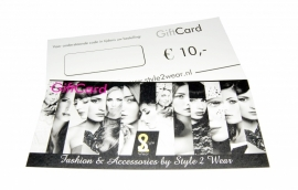 ♥ Style 2 Wear GiftCard €10