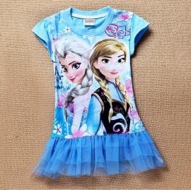 Tuniek Frozen Elsa en Anna