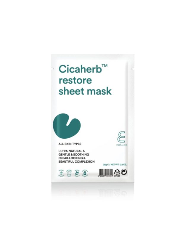 E Nature Cicaherb Restore Sheet Masker
