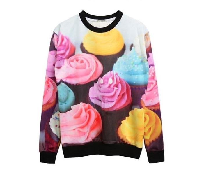 Sweater/ Trui Cupcakes