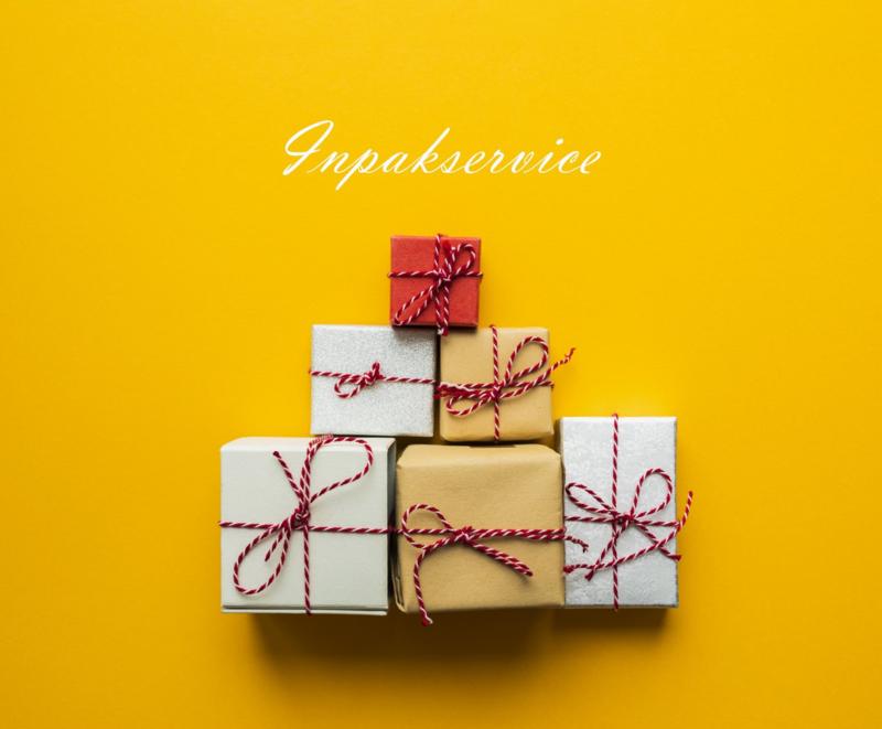 Inpakservice Cadeau -/ Kadoverpakking