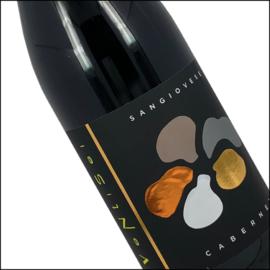 DOOS van 6 flessen Ventisei Sangiovese / Cabernet  - Actie ALS