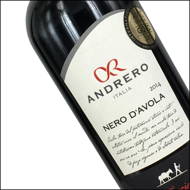 Andrero, Nero d'Avola, Italië