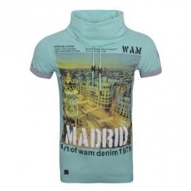 T-shirt WamDenim Madrid Mind