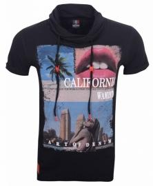 Wam denim T-shirt  Black California