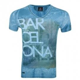 T-shirt WamDenim Barcelona Turquoise