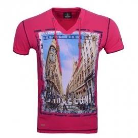 T-shirt WamDenim Sevilla Fushia