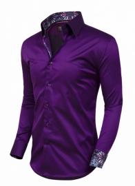 Wam Denim Purpe overhemd