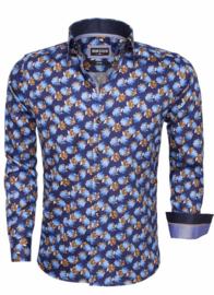 Overhemd wam denim navy