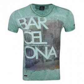 T-shirt Wamdenim Barcelona Green Apple