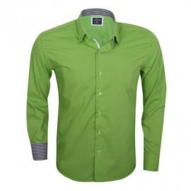 Overhemd Arya boy Green