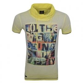 T- Shirt WamDemin Omaha Yellow