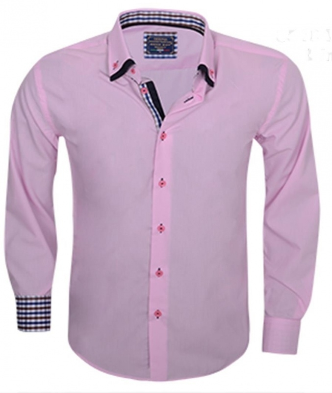 Overhemd Aryaboy pink