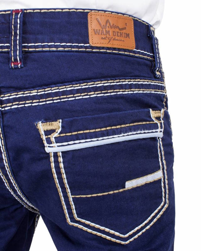 Wam denim Jeans Dark Blue