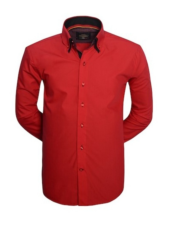 Overhemd Arya boy red