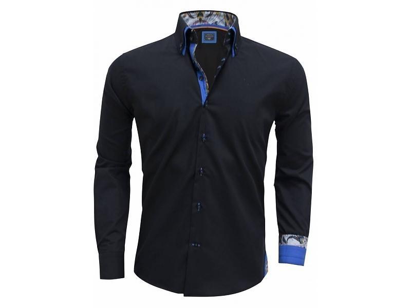 Arya Boy overhemd Black