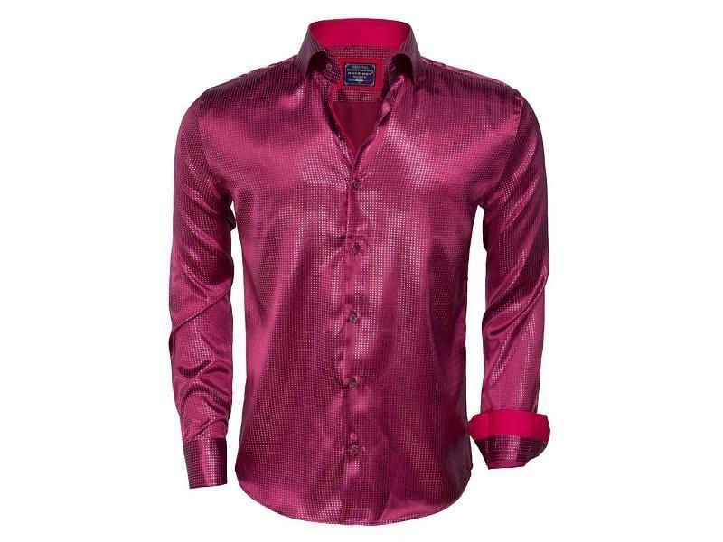 Arya Boy red overhemd