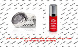 20% korting Enzymatic Skin Peeling (40ml) % Personal Choice (30ml)