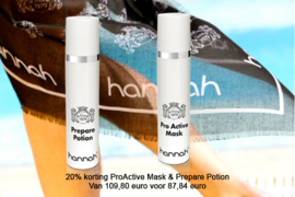 20% korting Prepare Potion (45ml) & ProActive Mask (45ml)