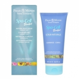 Spa Cell Sculpt  Natural Body Scrub