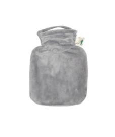 Warmwaterkruik 0,2L velours grijsHugo Frosch