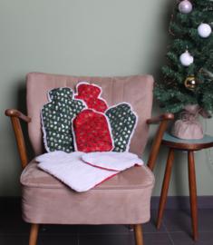 Warmwaterkruik Kerst groen 1.8L Juggi