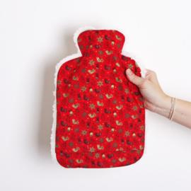 Warmwaterkruik Kerst rood 1.8L Juggi