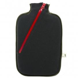 Warmwaterkruik softshell zwart Hugo Frosch