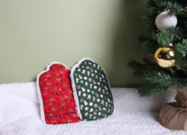 Warmwaterkruik Kerst groen 0.8L Juggi