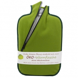 Warmwaterkruik softshell groen Hugo Frosch