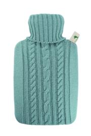 Warmwaterkruik Knitted blauw Hugo Frosch