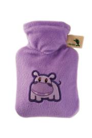 Warmwaterkruik 0,2L Hippo lila mint Hugo Frosch