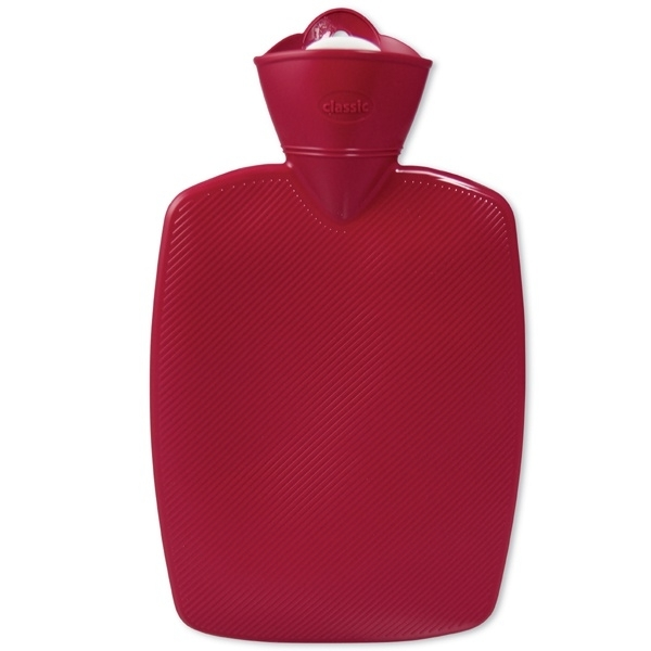Warmwaterkruik rood 1,8L Hugo Frosch