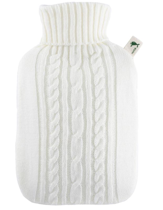 Warmwaterkruik Knitted wit Hugo Frosch