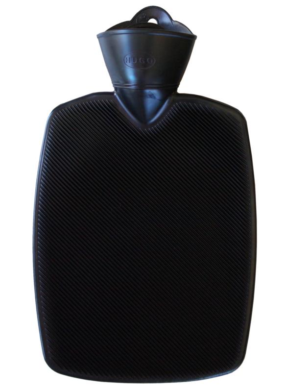 Warmwaterkruik zwart 1,8L Hugo Frosch