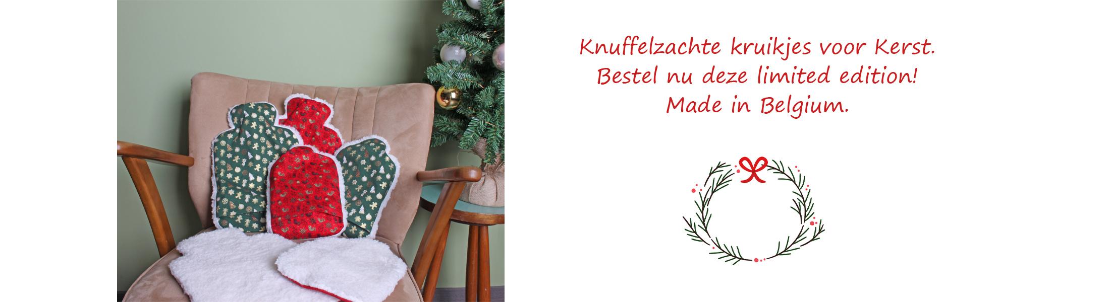 Kerstkruikjes limited edition