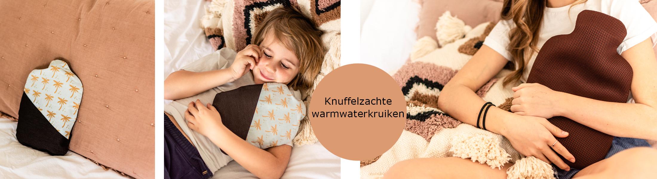knuffelzachte warmwaterkruikjes