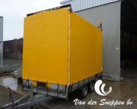 Geel PVC zeildoek 650gr/m2 - rolbreedte 2,5m