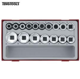 TenTools doppenset TC-Tray 17dlg 6kant