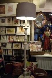 grote houten lampenvoet