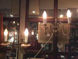 set van 2 wandlampjes
