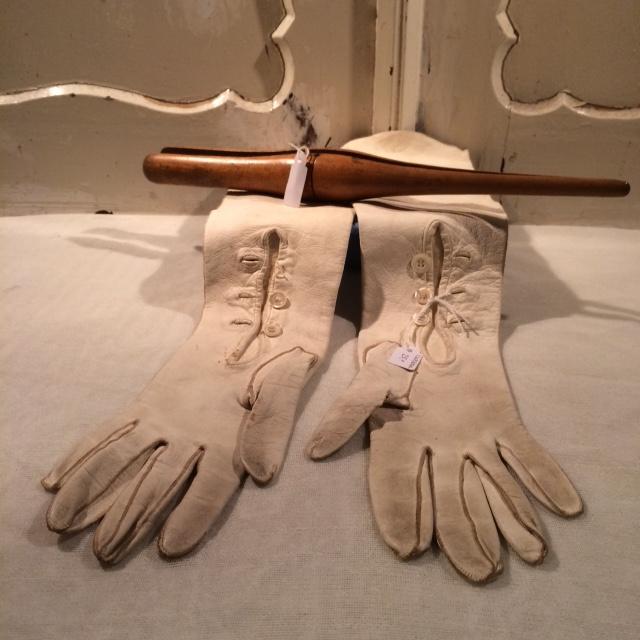 handschoenen leder met spanner
