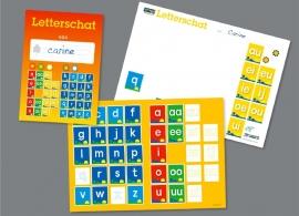 Lettergroeiboek: Letterschat - 5 stuks