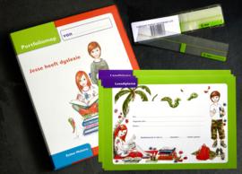 Portfoliomappen pakket