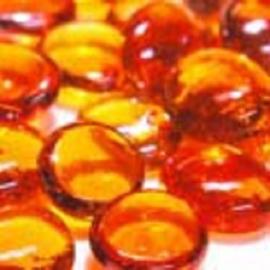 Oranje kristal