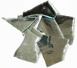 Spiegelglas zilver handgeknipt